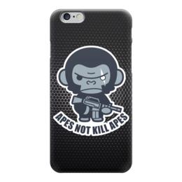 "Чехол для iPhone 6 ""Обезьяны не убивают (Планета Обезьян)"" - планета обезьян, planet of the apes"
