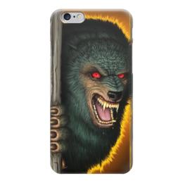 """Чехол для iPhone 6 """"Оборотень """" - волк, вампир"""