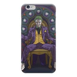"Чехол для iPhone 6 глянцевый ""Джокер"" - джокер, комиксы, dc comics, joker, бэтмен"