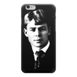 """Чехол для iPhone 6 """"Есенин"""" - есенин, поэт"""