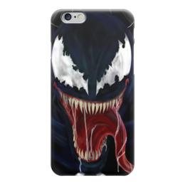 """Чехол для iPhone 6 """"Venom"""" - venom, marvel, веном, симбиот веном"""