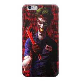 """Чехол для iPhone 6 """"Джокер"""" - комиксы, джокер, dc, псих, газовый ключ"""