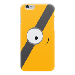 """Чехол для iPhone 6 глянцевый """"Миньон (Minion)"""" - миньон, гадкий я"""