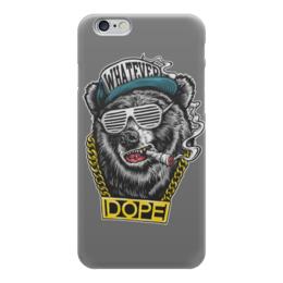 """Чехол для iPhone 6 глянцевый """"Animal Art"""" - animal, bear, медведь, арт дизайн, животные"""