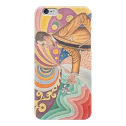 """Чехол для iPhone 6 """"Портрет Феликса Фенеона"""" - картина, синьяк"""