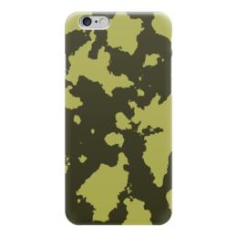 """Чехол для iPhone 6 """"Тёмно-Зелёный Камуфляж"""" - армия, камуфляж, camouflage, военный, тёмно зелёный камуфляж"""