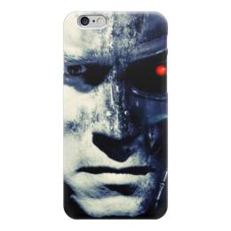 """Чехол для iPhone 6 """"Терминатор (Terminator)"""" - терминатор, арни, шварц"""