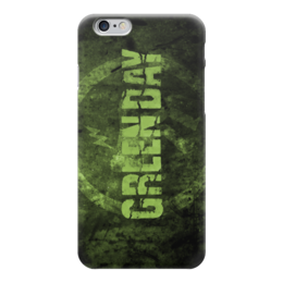 "Чехол для iPhone 6 ""Green day"" - day, green, green day, rock band"