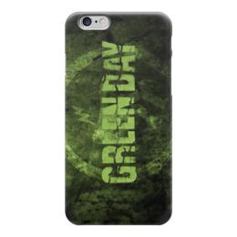 "Чехол для iPhone 6 ""Green day"" - day, green, green day, rock band"