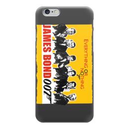 "Чехол для iPhone 6 глянцевый ""James Bond"" - агент 007, james bond, джеймс бонд, 007, актёр"