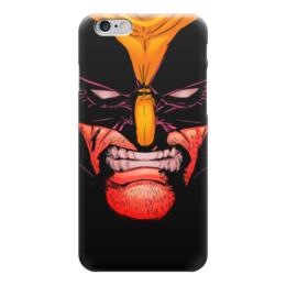 "Чехол для iPhone 6 ""Росомаха"" - комиксы, росомаха, марвел, wolverine, логан"