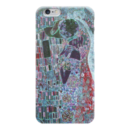 "Чехол для iPhone 6 глянцевый ""Поцелуй"" - арт, рисунок, стиль"