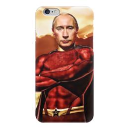 """Чехол для iPhone 6 """"Путин"""" - любовь, россия, герой, путин, президент"""