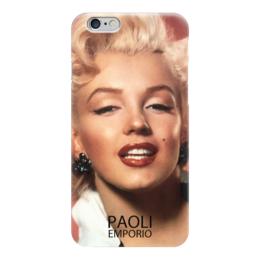 "Чехол для iPhone 6 глянцевый ""Merelyn Monroe Phone 6"" - iphone, монро, чехлы, kinoapt, maralyn monroe"