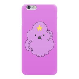 """Чехол для iPhone 6 """"Принцесса Пупырка"""" - adventure time, время приключений, принцесса пупырка"""