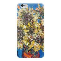 "Чехол для iPhone 6 ""Солнце"" - лето, красота, подсолнухи, букет, sunflowers"