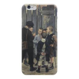 "Чехол для iPhone 6 ""Совещание"" - картина, башкирцева"