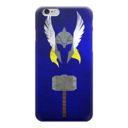 "Чехол для iPhone 6 ""тор"" - marvel, тор, thor, могучий тор"