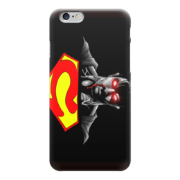 "Чехол для iPhone 6 ""супермэн"" - комиксы, супермэн, marvel, super man, марвел"