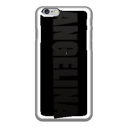 """Чехол для iPhone 6 глянцевый """"с именем Ангелина"""" - чехол с именем ангелина, чехол с именем, ангелина"""