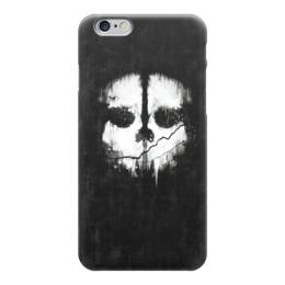 "Чехол для iPhone 6 ""Call of Duty: Ghosts"" - call of duty, шутер, ghosts, логан уокер, легенда о призраках"