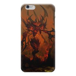 "Чехол для iPhone 6 ""Diablo"" - дьявол, диабло, рпг, diablo iii"