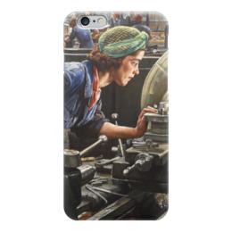 """Чехол для iPhone 6 """"Руби Лофтус. Ввинчивание казённика (Лаура Найт)"""" - картина, найт"""