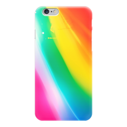"""Чехол для iPhone 6 """"Абстракция"""" - радуга, рисунок, абстракция, абстракционизм, арт дизайн"""