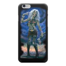 """Чехол для iPhone 6 """"Iron Maiden Band"""" - зомби, heavy metal, рок группа, iron maiden, хеви метал"""