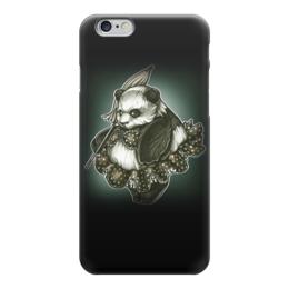"""Чехол для iPhone 6 глянцевый """"Panda Girl"""" - животные, bear, медведь, панда, panda"""