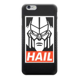 """Чехол для iPhone 6 """"Мегатрон (Hail)"""" - hail, мегатрон, megatron"""