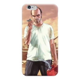 """Чехол для iPhone 6 """"Тревор из ГТА"""" - grand theft auto, gta, гта, тревор"""