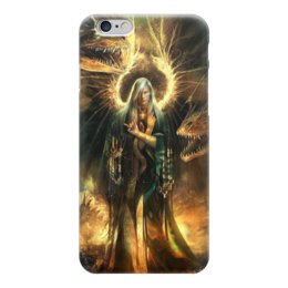 """Чехол для iPhone 6 """"Ангел"""" - крылья, ангел, апокалипсис, человек, драконы"""