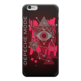 "Чехол для iPhone 6 ""Depeche Mode"" - музыка, арт, depeche mode, депеш мод, synth pop"