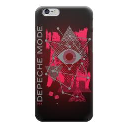 """Чехол для iPhone 6 глянцевый """"Depeche Mode"""" - depeche mode, музыка, synth pop, арт, депеш мод"""