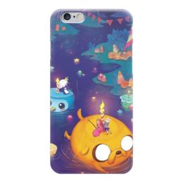 "Чехол для iPhone 6 ""Adventure Time Jake"" - adventure time, время приключений, финн и джейк"