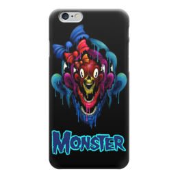 "Чехол для iPhone 6 ""Monster"" - skull, череп, monster, монстр, арт дизайн"