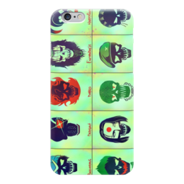 "Чехол для iPhone 6 ""Отряд Самоубийц"" - joker, джокер, harley quinn, харли квин, suicide squad"