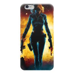 """Чехол для iPhone 6 """"Black Widow (Мстители)"""" - comics, комиксы, мстители, черная вдова, black widow"""