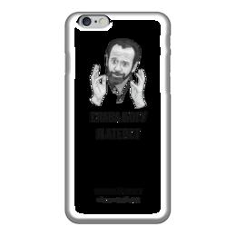 "Чехол для iPhone 6 ""Слава богу, я атеист"" - религия, атеизм"