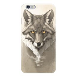 "Чехол для iPhone 6 ""Лиса "" - fox, лиса, ар"