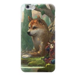 """Чехол для iPhone 6 """"Samurai cat"""" - самурай, doge, сиба ину, доге"""