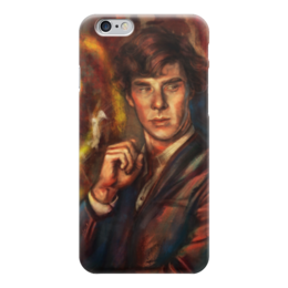 "Чехол для iPhone 6 ""Шерлок Холмс"" - bbc, sherlock, sherlock holmes, john watson"