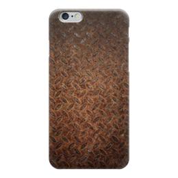"""Чехол для iPhone 6 глянцевый """"очень ржавый"""" - арт, ржавый чехол, для айфон"""
