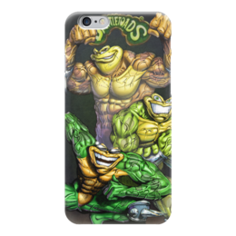 "Чехол для iPhone 6 ""battletoads"" - игры, game, battletoads, боевые жабы"