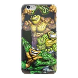 "Чехол для iPhone 6 глянцевый ""battletoads"" - battletoads, game, боевые жабы, игры"