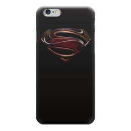 "Чехол для iPhone 6 ""супермен"" - super man, dc"