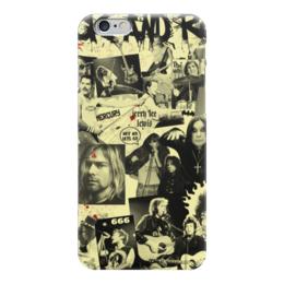 "Чехол для iPhone 6 ""Рок звезды"" - nirvana, rock, queen, 666, курт кобейн"