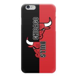 """Чехол для iPhone 6 глянцевый """"Чикаго Буллз"""" - чикаго буллз, chicago bulls, баскетбол, спорт"""