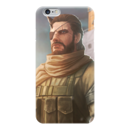 "Чехол для iPhone 6 ""Солид Снейк"" - mgs, diamond dogs, metal gear solid, venom snake, the phantom pain"